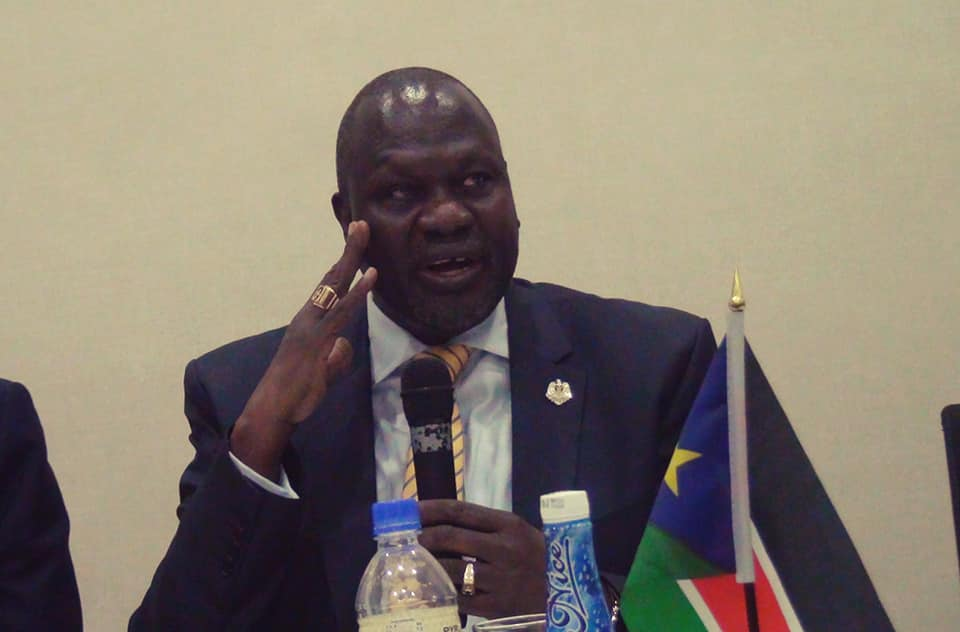 Riek Machar says 'Peace is the only option for South Sudan'