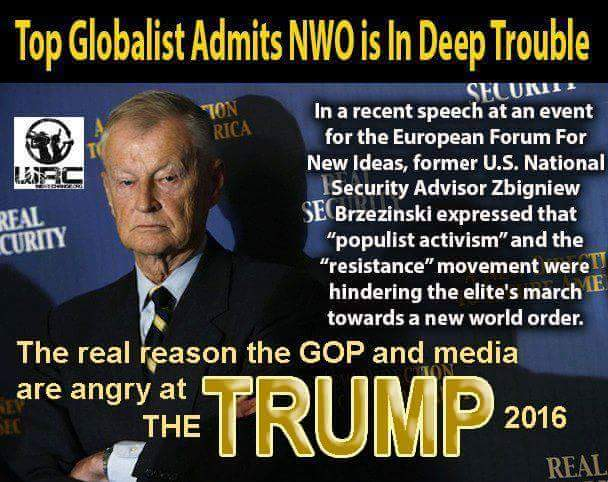 Image result for Trump's New World Order