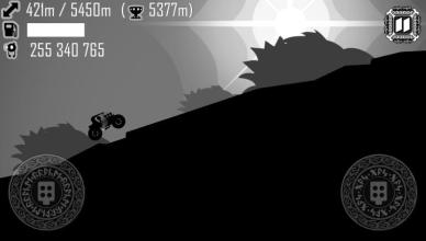 hill climb racing ragnarok screenshot