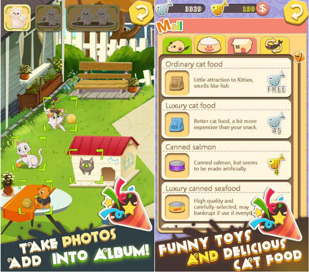 kitty home screenshots