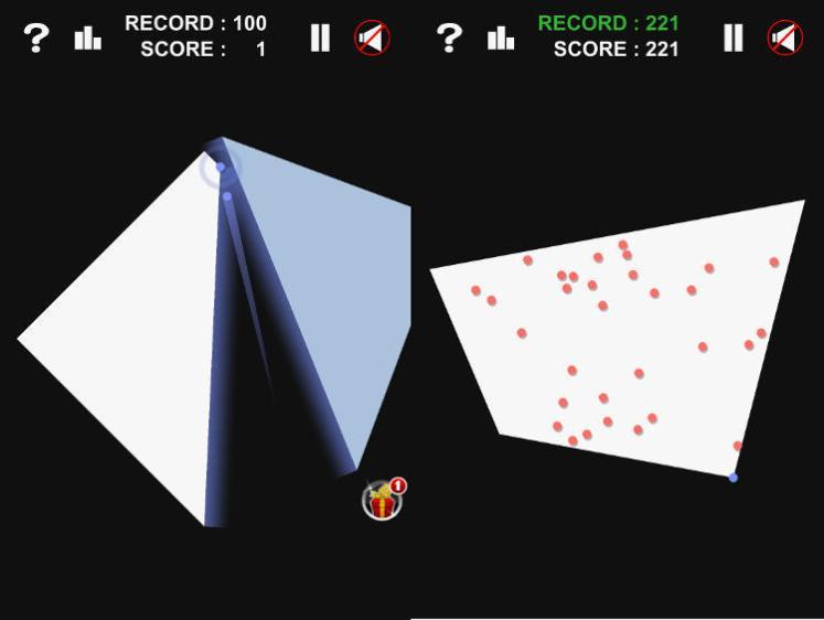infinite slice gameplay