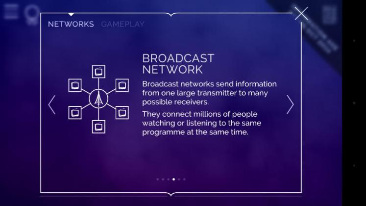 transmission broadcast network defined