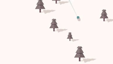powder alpine simulator skiing game