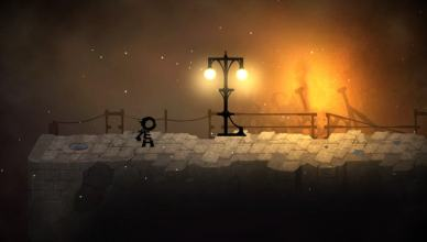 typoman screenshot street light fire