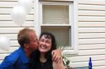 Ryan Kissing Mom