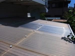 トタン屋根修理DIY