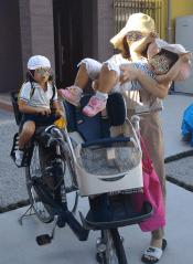 子供乗せ自転車 載せる順番