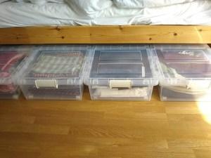 ベッド下の収納ケース