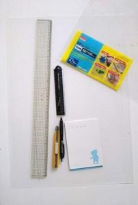 仕切り板DIYの材料と必要道具