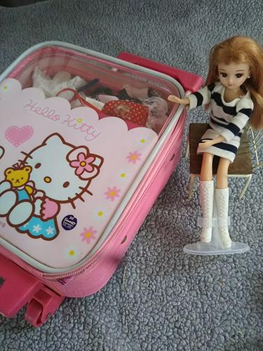リカちゃん人形服収納はキャリーバック