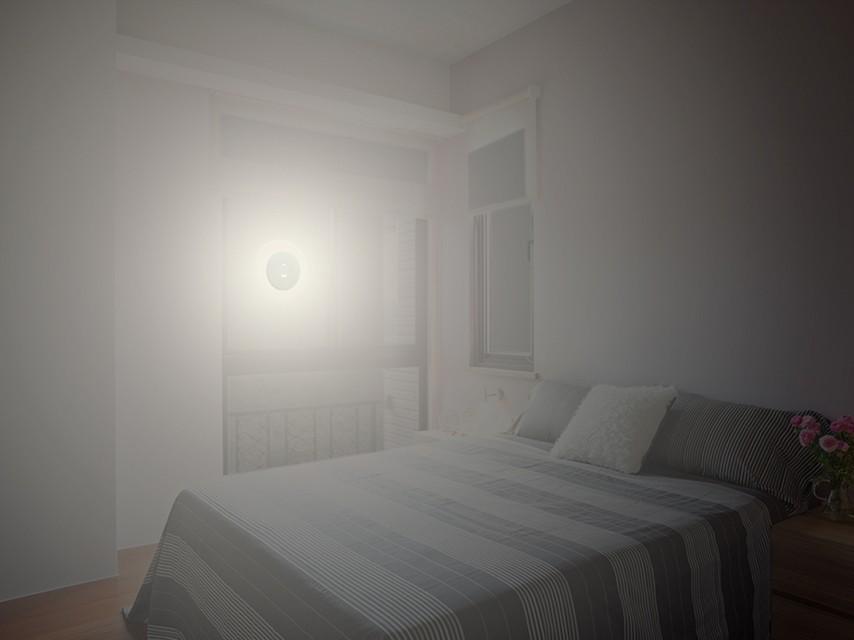 LightDisc |Solar| Window Solar Charger Dimmable LED light