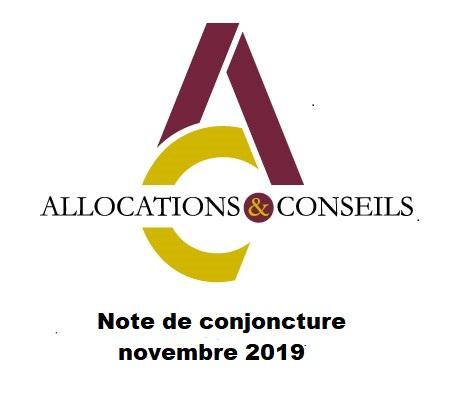 Note de conjoncture novembre 2019