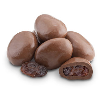 Chocolate-Covered Raisins