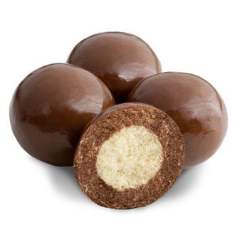 Triple Dipped Milk Chocolate Malted Milk Balls