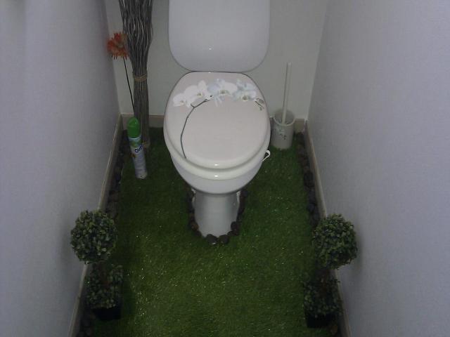 ide pour dcorer ses toilette   allodeco