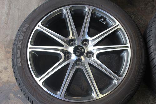 "Set of Four 2017 18"" Kia Soul OEM Rims Tires Wheels 235/45R18 94V 4"
