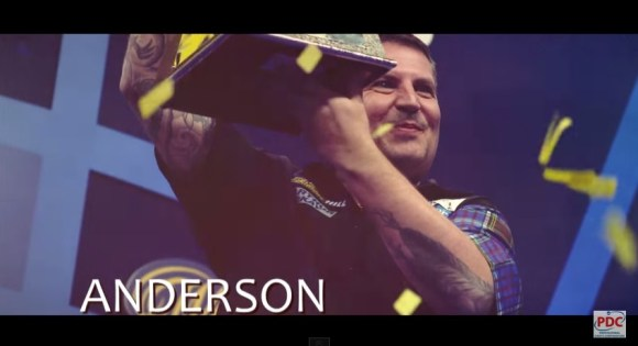 2015 Sydney Darts Masters Gary Anderson