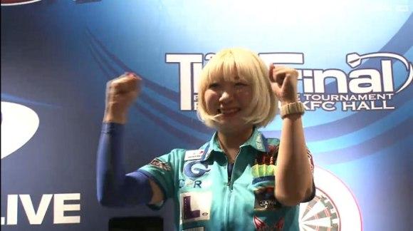 2015 PDC CHALLENGE THE FINAL 女子決勝戦 鈴木未来 井上さや香