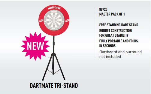 unicorn 2017 DARTMATE TRI-STAND