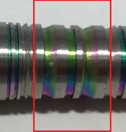 Harrows 星野理絵モデル RHythm Rainbow 2BA 19g