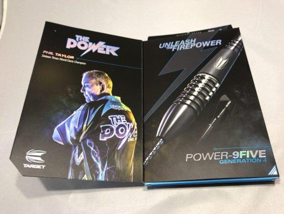 TARGET Phil Taylor POWER 9FIVE GEN-4 STEEL 26g
