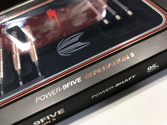 TARGET Phil Taylor POWER-9FIVE GENERATION-5 ORIGINAL
