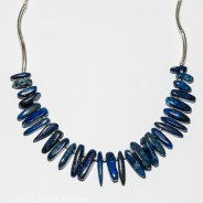 Collier Tribal Lapis