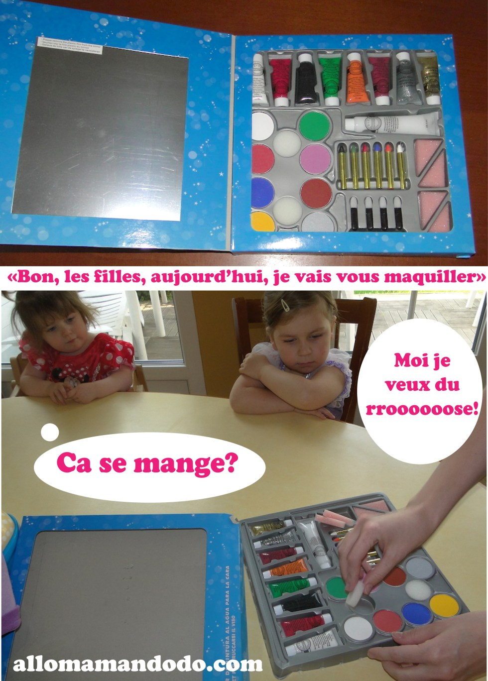 maquillage kit diy tuto enfant