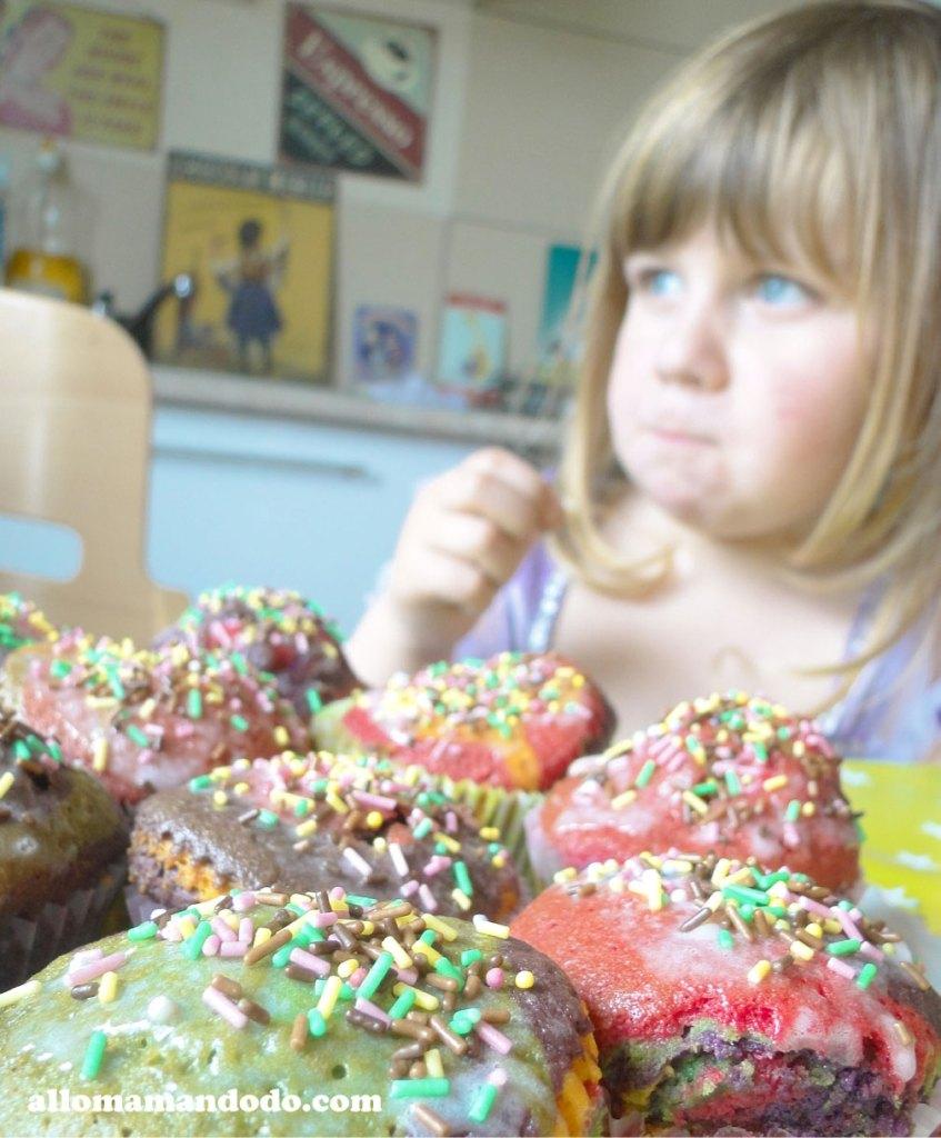 cupcake arc-en-ciel 7