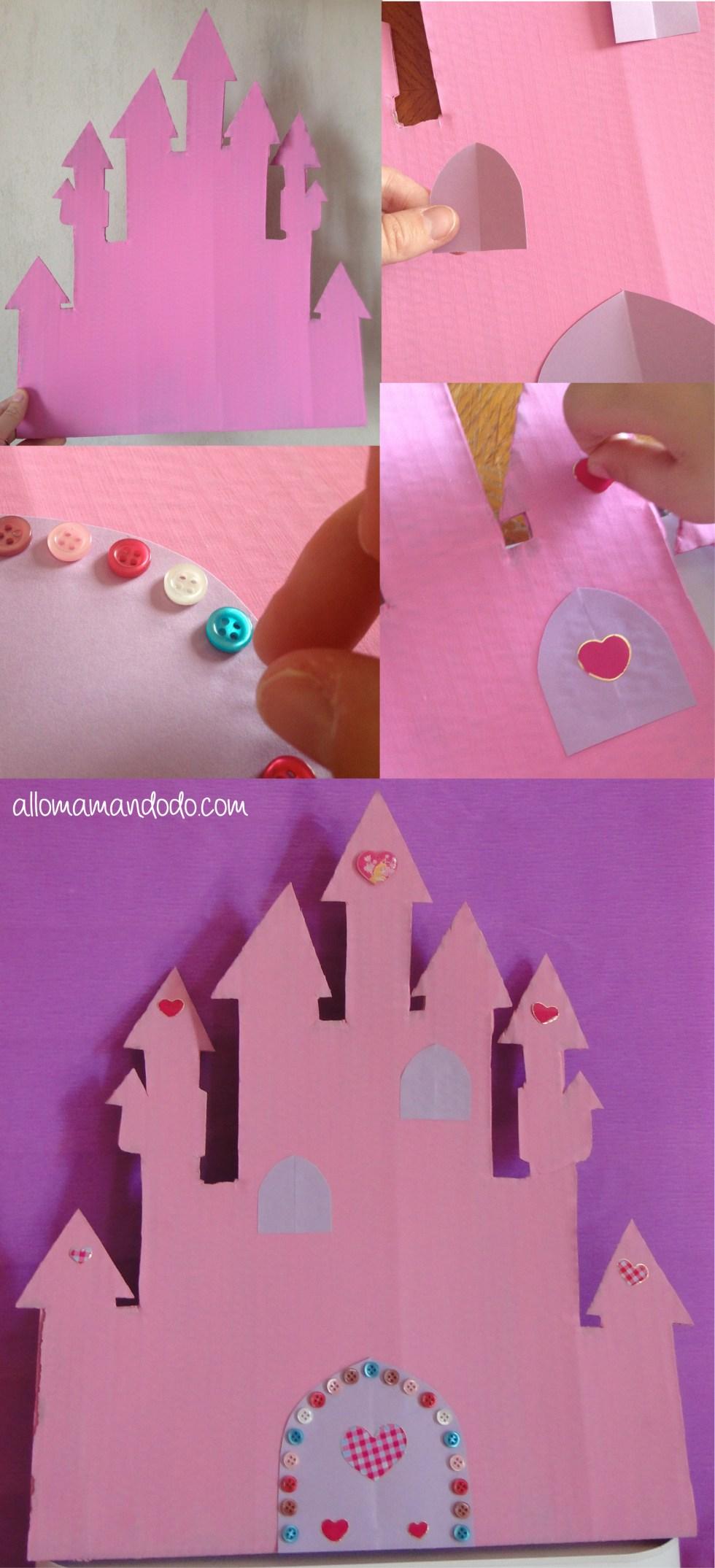 sweet table anniversaire princesse déco château