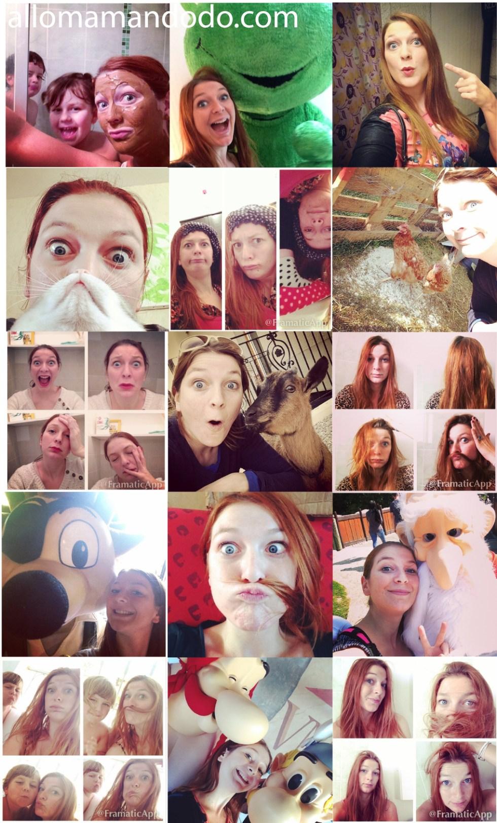 blog maman selfies humour