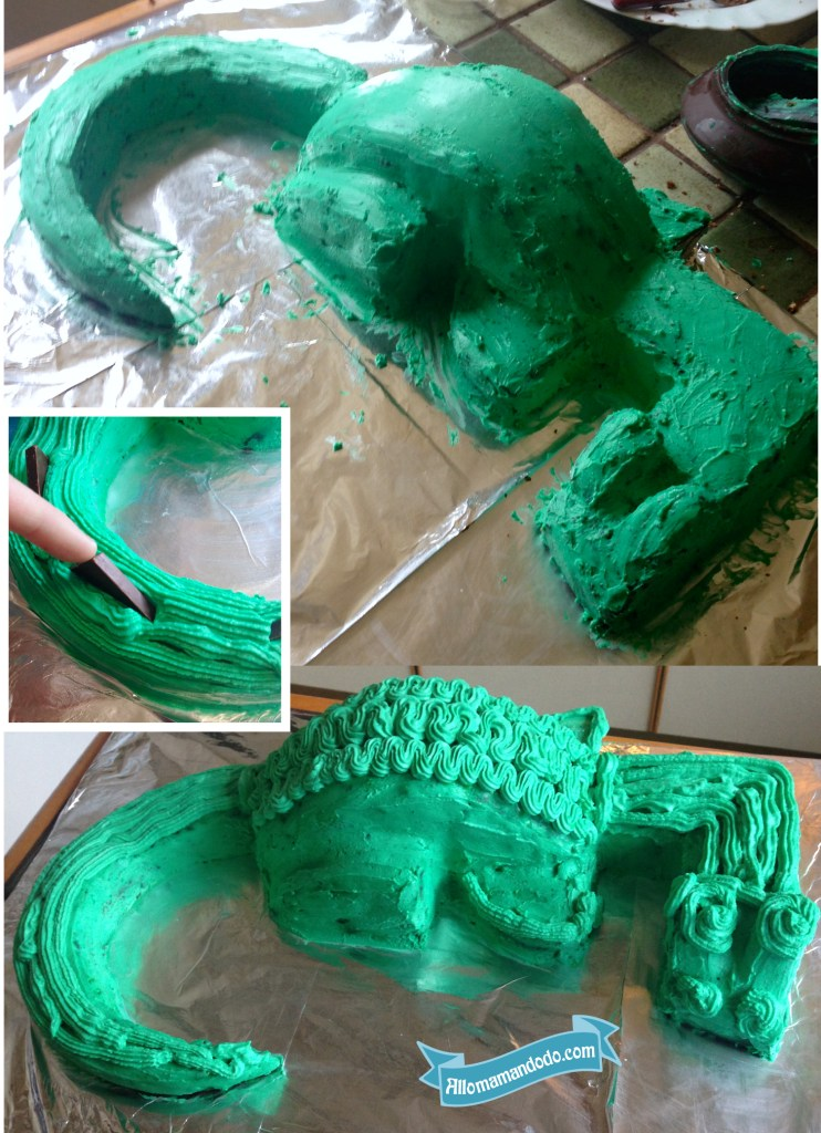gateau dragon tuto photo