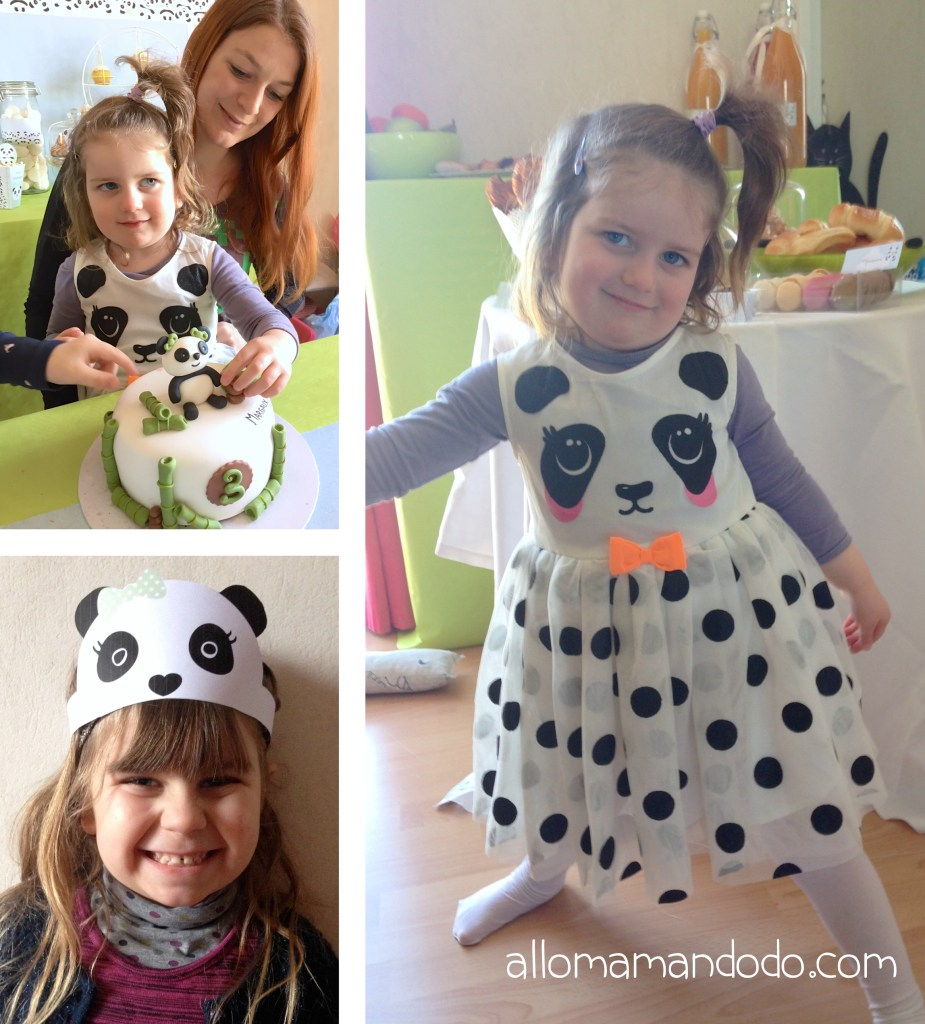 3 ans theme panda allomamandodo