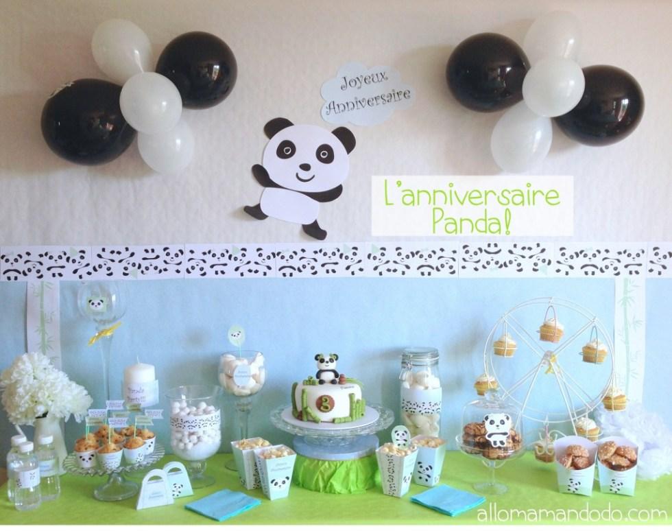 ANNIVERSAIRE PANDA 1
