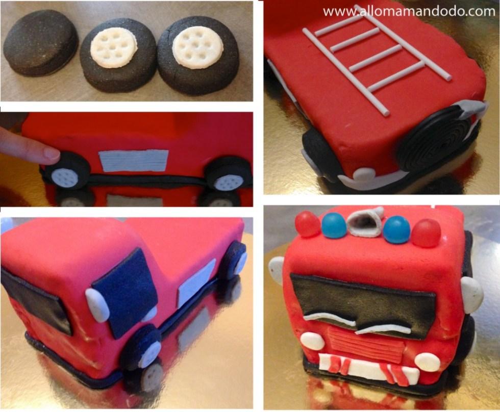 camion pate à sucre pompier