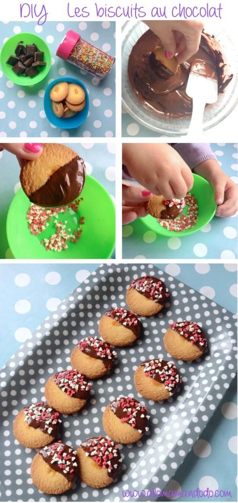 diy biscuits chocolat