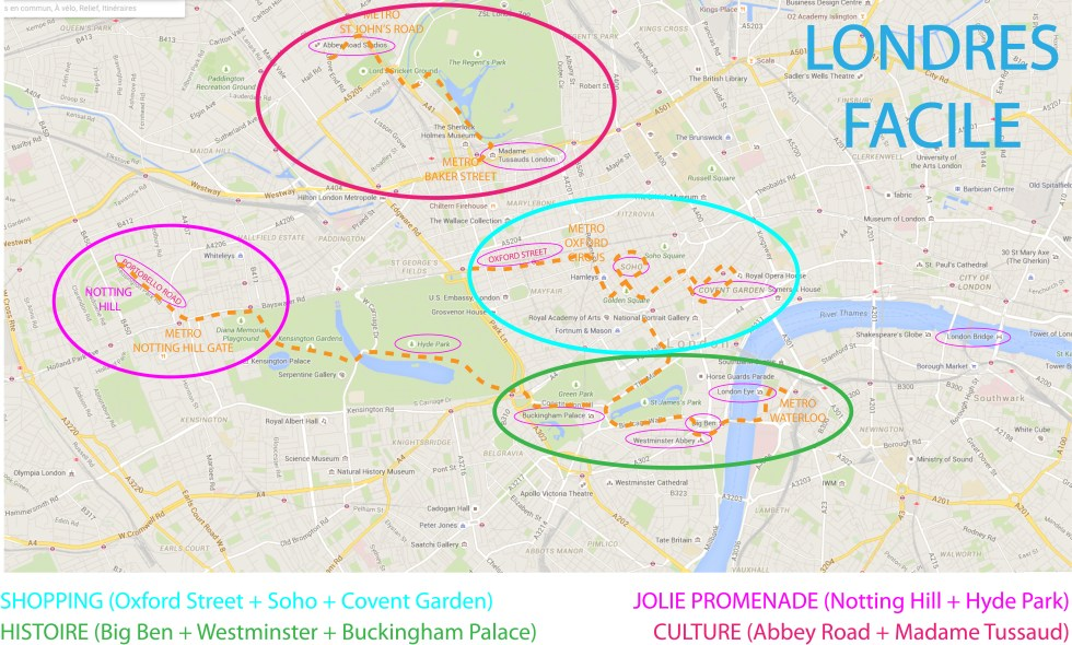 plan londres facile