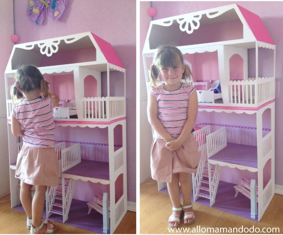 maison de barbie fille