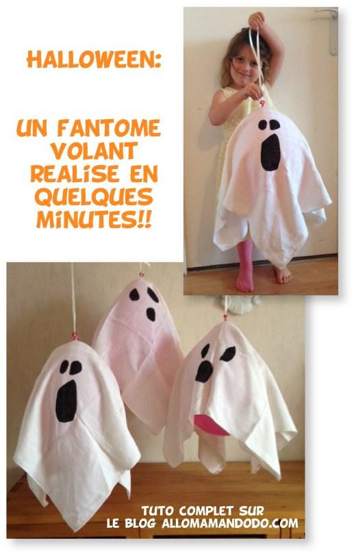 fantome halloween facile déco