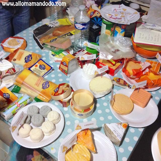 idée repas convivial Idée conviviale du Week end: Le Repas de Fromages! (Fiches à  idée repas convivial