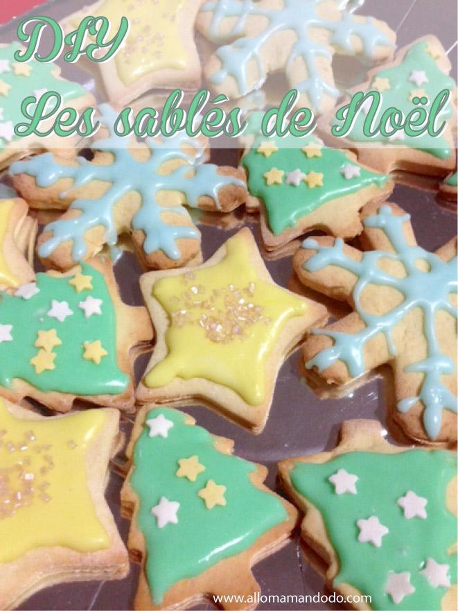 Recette + Glaçage Facile des Sablés de Noël (#DIY tuto photos!)