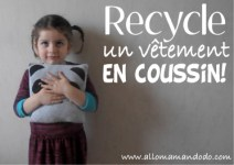recycler coussin
