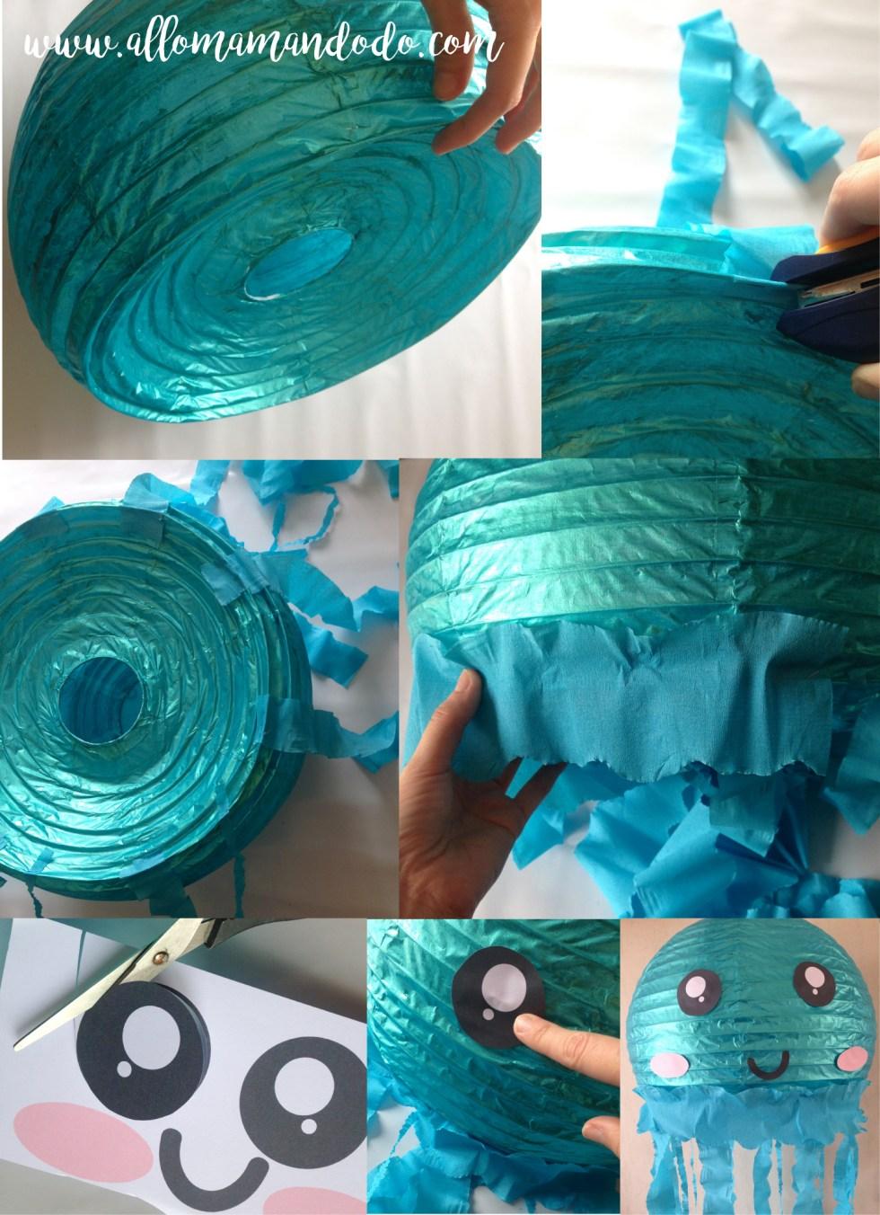 meduse DIY tuto