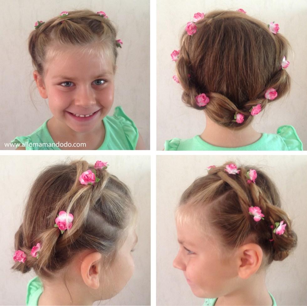 tutoriel coiffure facile petite fille