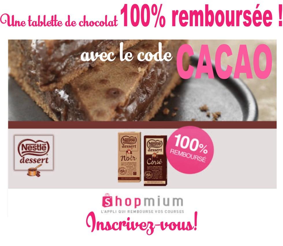 gratuit-code-promo-chocolat-shopmium