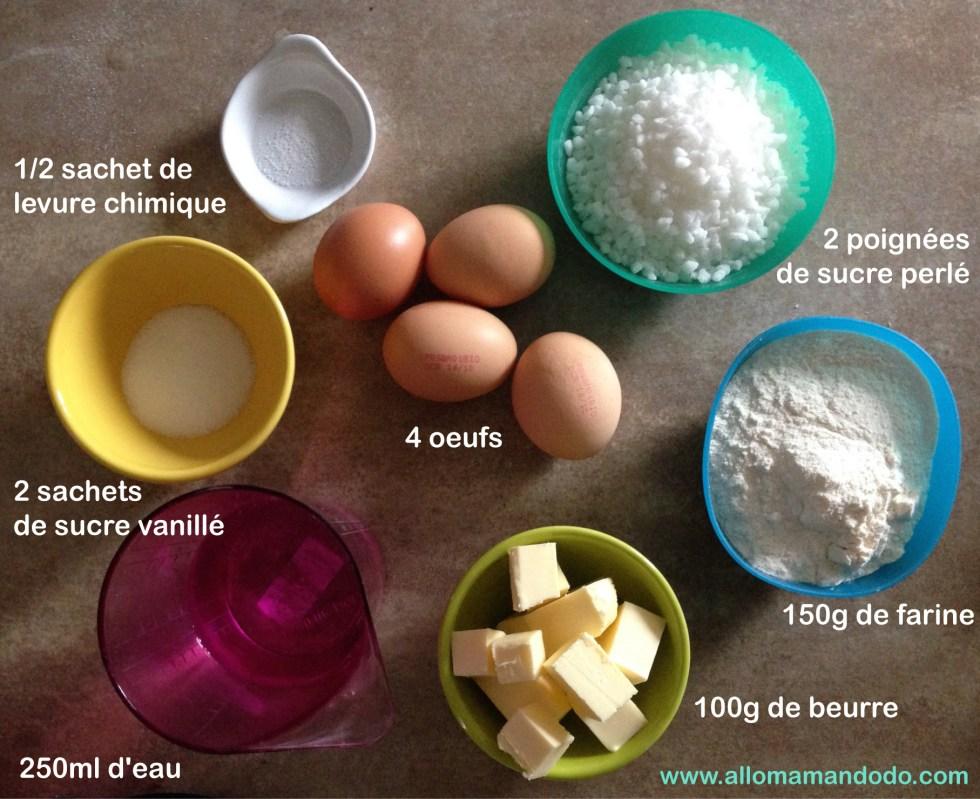 ingrdients-recette-chouquette-facile