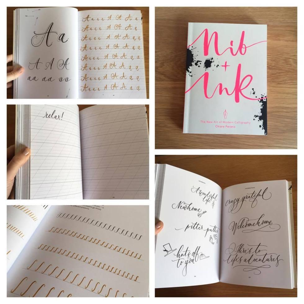nik ink book livre calligraphie