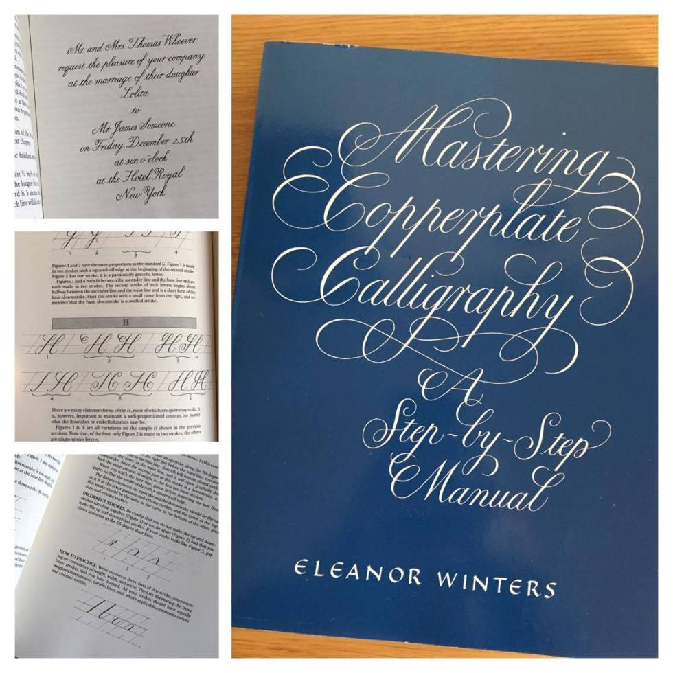 livre calligraphie