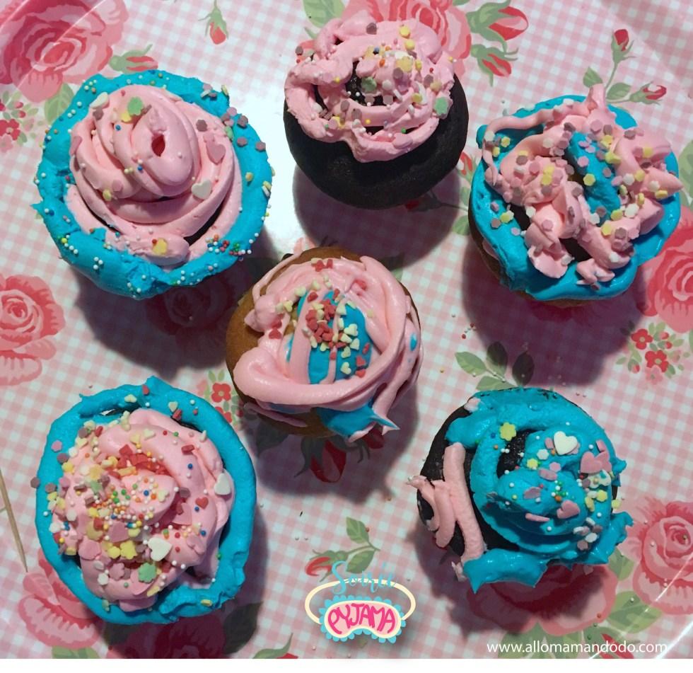 cupcakes pyjama party