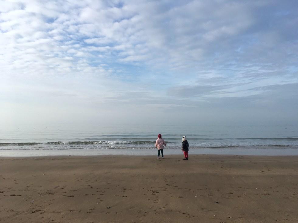 plage normandie enfants